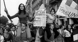 El mayo del 68 era machista... y abortista